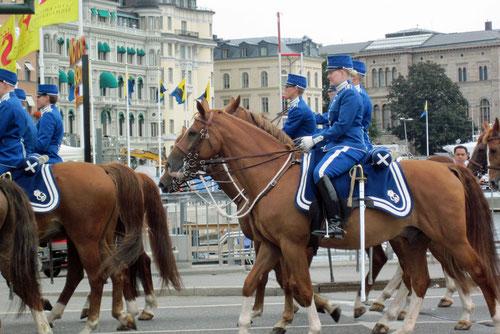 Königliche Parade