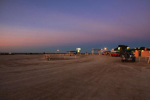 Sonnenaufgang beim Nullarbor RH
