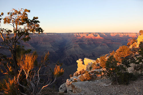 Sunset am Grand Canyon