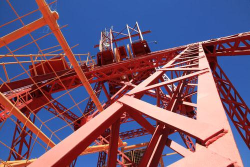 Alter Bohrturm in Kalgoorlie