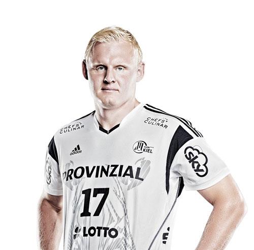 Schirmherr des 9. DoppelPASS-Cups: Patrick Wiencek vom THW Kiel