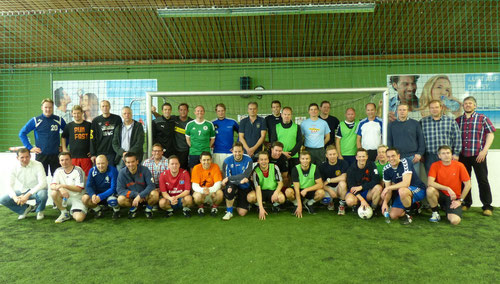 DoppelPASS & Friends beim Hallenturnier in der Flensburger SoccerArena