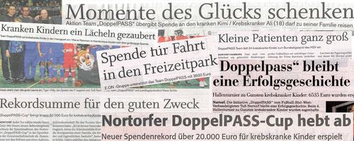 """""""Tue Gutes und rede darüber"""": Ausgewählte Überschriften der vergangenen Jahre in der Presselandschaft"""