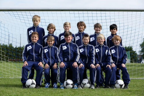 Die D-Jugend des FC Hansa Schwanewede