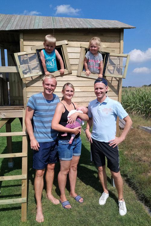 DoppelPASSer Eike besuchte den kleinen Jorve und seine Familie in  Viöl