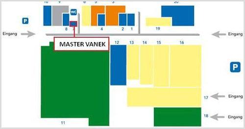 Plan des Kaufparks Vösendorf
