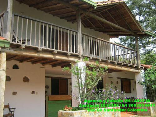 Hotel en san gil campestre con cabañas, piscina y tobogan cod. 004 ...