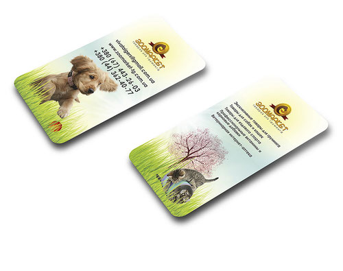 business cards design; ideas business cards; creative beautiful design; dogs; cats; zoomarket; zooshop; internet shop; online shop; Grau; tigers; tm; Kiev;