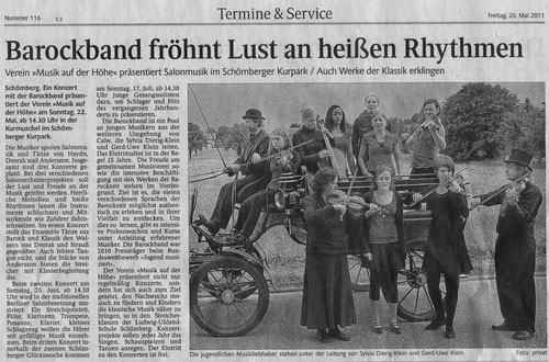 Kreisnachrichten Mai 2011