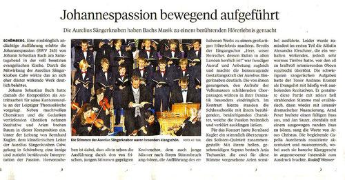 Pforzheimer Zeitung 03.04.2012