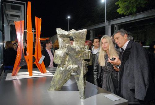 La inauguración (Autor: Alejandro Lipszyc)