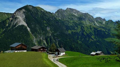 Alpsiedlung Vordersteinbild Rosenkranzkapelle