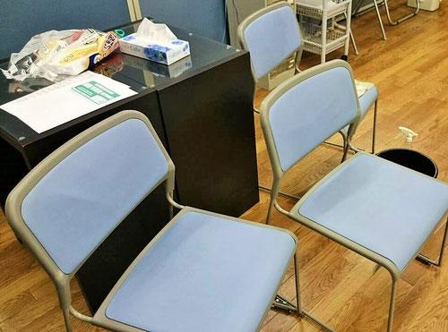 このきれいになった椅子で、子どもたちには新たな気持ちで勉強をしていってもらいたいです。次は机をピッカピカにしよ。あと、中学生ルームもやらないと。新年度に向けて、教室もリフレッシュしていきます!