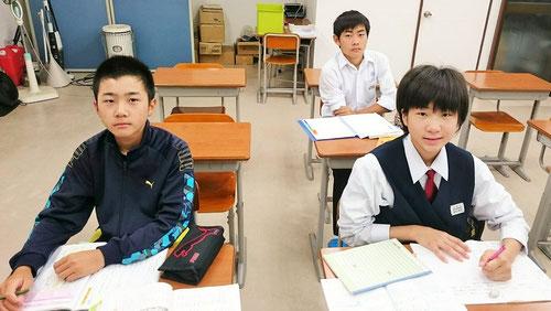 朝6:00教室集合、期末テスト勉強スタート