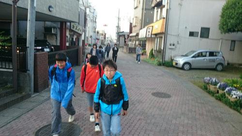 結城城跡公園までは教室から約1.2㎞。歩いて約20分くらいです。