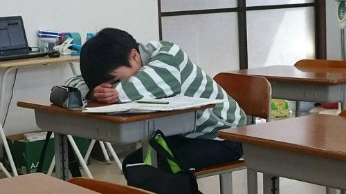そして10分間の昼寝が長時間学習を乗り切るポイント。
