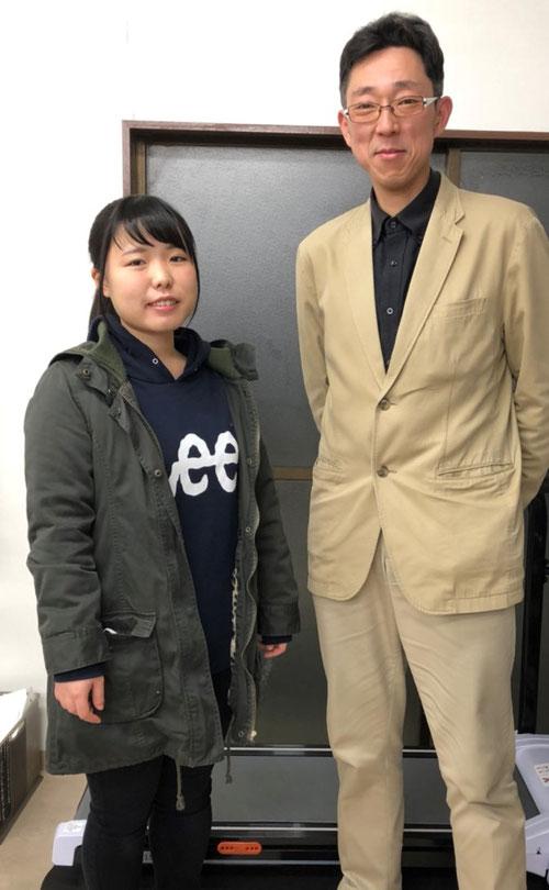 高3のまきからうれしい春の便りが来ました。高崎経済大学経済学部合格。