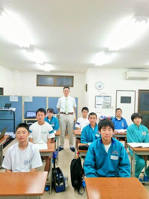 この教室に通って、しっかり勉強する習慣がつきました!