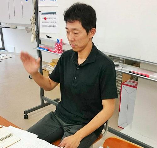 塾長の僕もいっしょに、毎朝のルーチンとしている手動瞑想をやります。