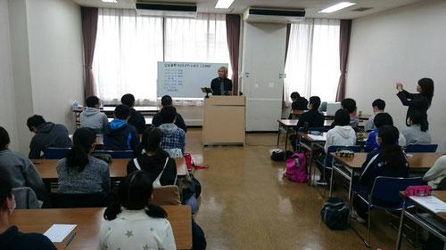 ラスパ2日目は、土浦・亀城プラザで本校と合同開催。リアル塾超の合格伝授式を間近で受けられるなんて今年はなんてラッキーなんだ!!