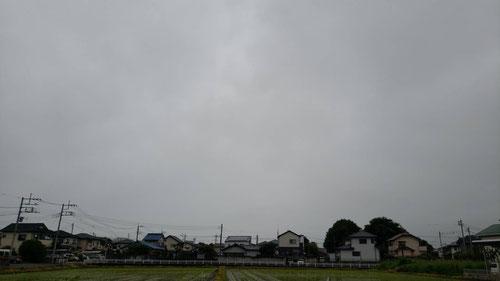 7/2あさんぽ5:35ごろのイマソラ(校長ツイッター毎日更新中!)