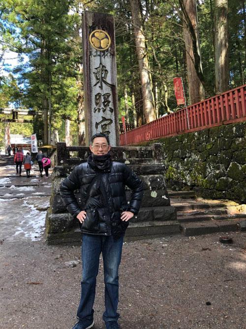 華厳の滝を見た後、バスでいろは坂をおりて、栃木県が誇る世界遺産・日光東照宮に行ってきました。久々の東照宮にテンションはMAX状態でした。