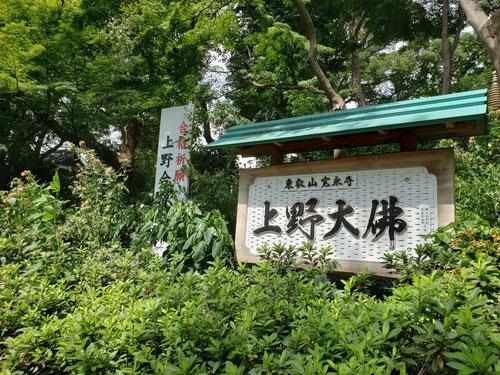 今年のKJ夏のイベントは、上野大佛へちょっと早めの合格祈願!!