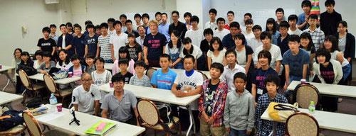 KJ各校の合宿参加メンバー