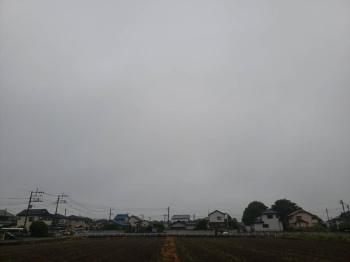 毎朝散歩をして空の様子を写真に撮っていますが、梅雨空ですね。写真は5:35頃の自宅付近の空です。ツイッターにアップしていますのでそちらもご覧になってください。この時期は意外とじめじめして暑いんですよね、、。暑かったり寒かったり、風邪ひかないように注意して生活しないとですね。やっぱりこの時期は体のケアも大切です。みなさんも十分に気をつけて生活して下さいね。