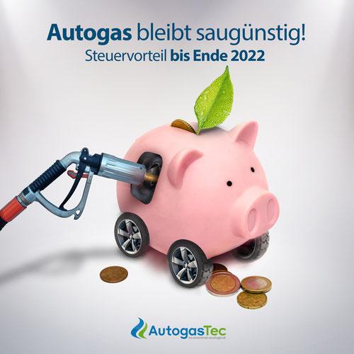 Autogas bleibt bis 2022 günstig