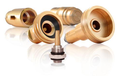 LPG-Adapter mit Autogas-Filter zum Wechseln