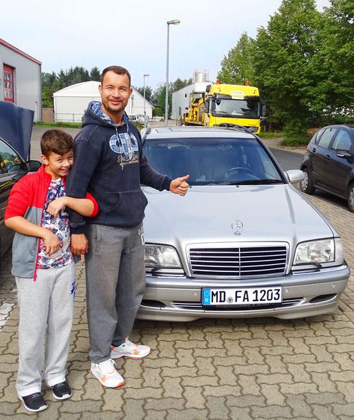 Mercedes T-Modell mit Icom JTG Gasanlage und neuer Autogas Pumpe