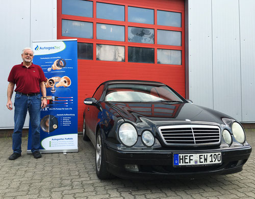 Mercedes mit Gasanlage