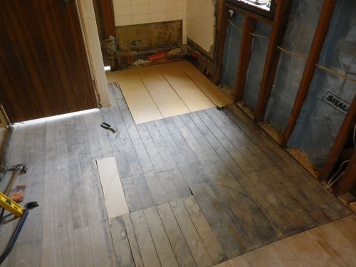 Floor relaid