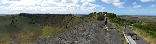 The top of Mt Shank