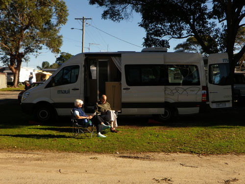 Campsite at Iluka