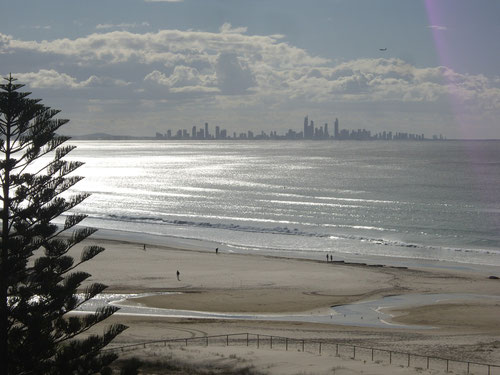 View of Surfers Paradise on the Gold Coast (from Janine's mum's balcony