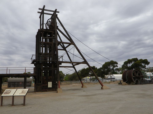 Old mining gear