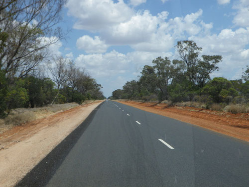 Driving to Bourke
