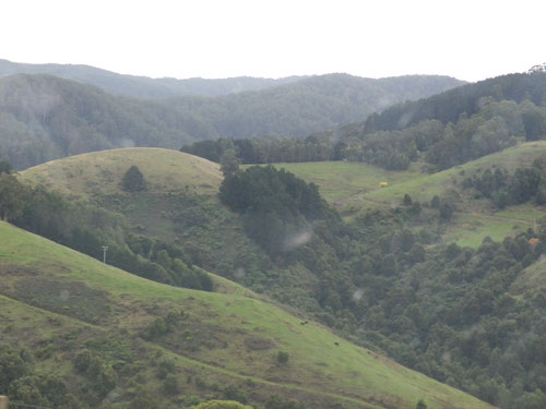 The hills of Apollo Bay