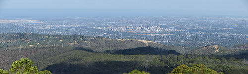 Adelaide, from Mt Lofty