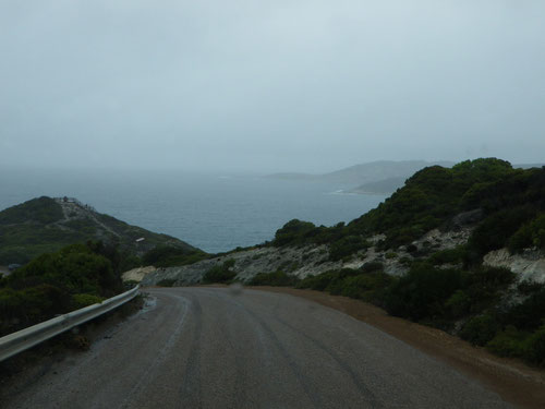 Coast road out of Esperance