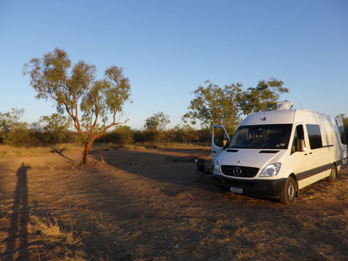 Our free campspot south of Normanton