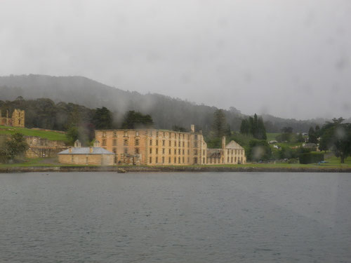 Port Arthur from the sea