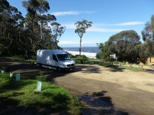 Free camp at Mayfield Bay