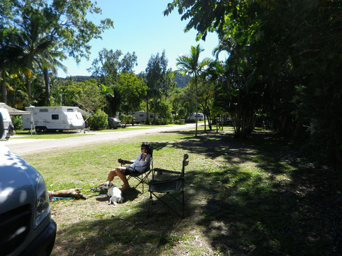 Our camp spot