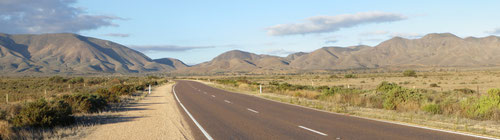 The road through the Ranges