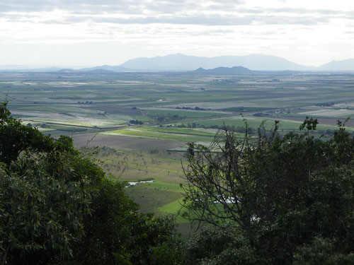 View from lookout on way to Townsville