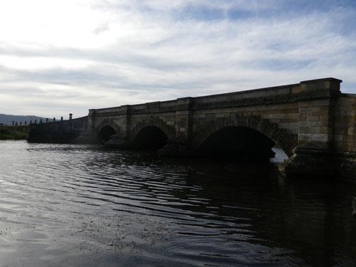 Historic bridge at Ross