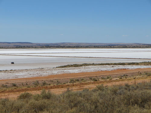 One of many salt flats